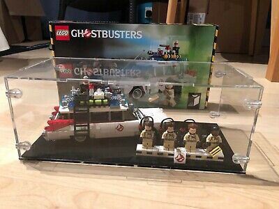 LEGO Ideas 21108 Ghostbusters Ecto-1 - 100% Complete + Acrylic Display Case • 90£