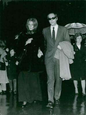 $ CDN28.10 • Buy Athina Livanos Walking With A Woman Holding Here Hand.Photo Taken Jan 29, 1973 -