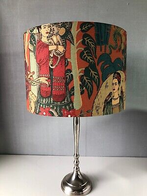 £39 • Buy 'Frida Kahlo' Terracotta 30cm Lamp Or Ceiling Shade With Or Without Tassels