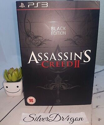Assassins Creed 2 PS3 Black Edition Numbered Complete Statue+game+artbook+cd  • 109.99£