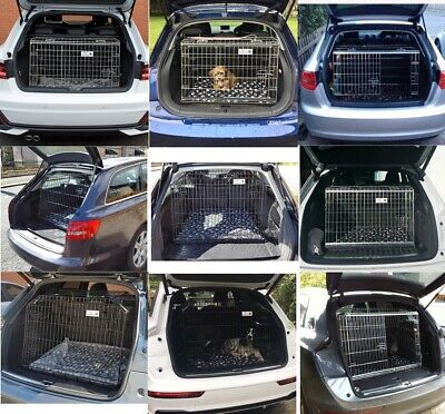 £118.90 • Buy PET WORLD Dog And Puppy Travel Boot Crate Cage For Audi A1 A3 A4 A6 Q3 Q5 Q7