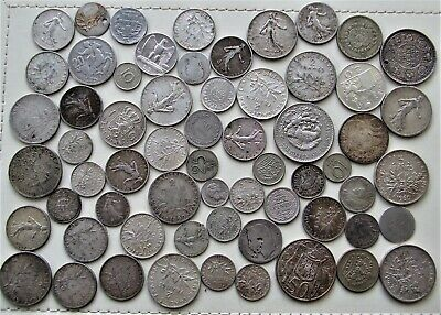 345g World Foreign Silver Coins - Scrap OR Collectable • 11.61£
