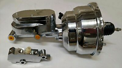 1960-1966 Ford Falcon Power Brake Booster /& Ford Dual Reservoir Master Cylinder