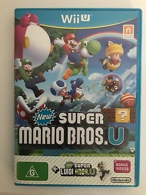 AU29 • Buy New Super Mario Bros. U + New Super Luigi U & Bonus Videos Nintendo Wii U PAL