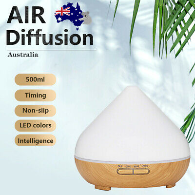 AU16.39 • Buy  500ML Essential Oil Aroma Diffuser LED Ultrasonic Air Aromatherapy Humidifier