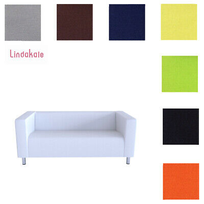 Custom Made Cover Fits IKEA Klippan 2 Seat Sofa Cover, 2 Seater Cover Clearance • 48.94£