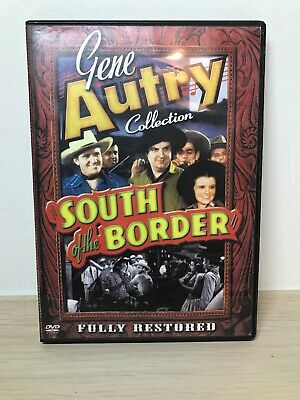 Gene Autry Collection South Of The Border DVD Fully Restored Rare 1939 • 15£
