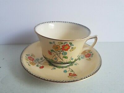 $ CDN19.99 • Buy Grimwades Royal Winton Ivory England Spring Vintage Cup And Saucer Set