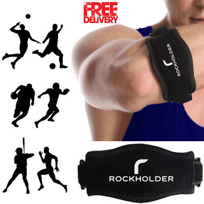 Tennis Elbow Support Brace Strap Band Arthritis Gym Golfers Pain Epicondylitis • 3.49£