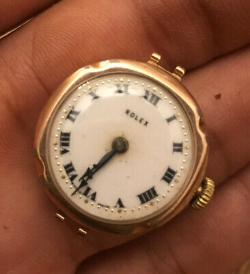 Antique Ladies 9ct Gold Rolex Watch Vintage 15 Jewels 1920s HallMarked • 111£