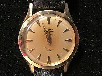 $ CDN169.61 • Buy Vintage Longines Automatic Mens Watch. 10K Gold Filled Case.Great Condition. (3)