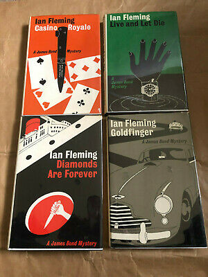 Ian Fleming - Casino Royale / LALD / Diamonds / Goldfinger - Rare Review Copies • 950£