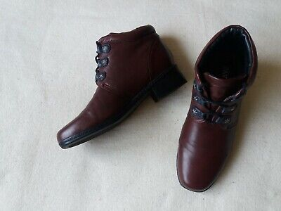 Women's Pavers Leather Boots EU Size 40 Good Condition • 29.99£