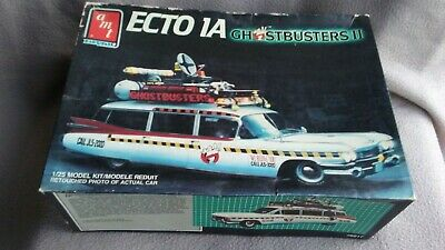 ECTO 1A Ghostbusters 2, 1:25 MODEL KIT 6017 By AMT. (1959 Cadillac Ambulance)  • 9.99£