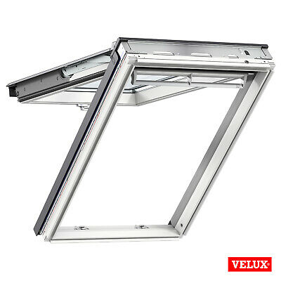 VELUX Roof Window GPL 2070, White Painted, Top-hung With Flashing Kit • 358.99£