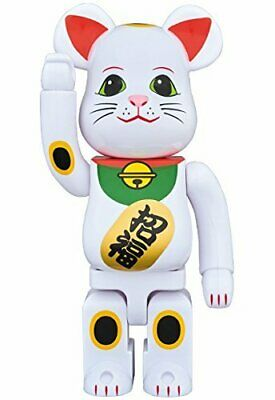 $340.89 • Buy Medicom 2017 Be@rbrick Skytree 400% Lucky Cat Neko White Blessing Bearbrick