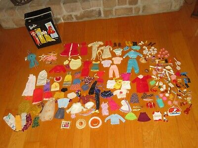 $ CDN131.81 • Buy Vintage Ponytail BARBIE DOLL Case Clothing Outfit Doll & More (V279)