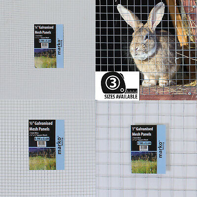 60cm X 90cm Mesh Panels Galvanised Wire Netting Chicken Rabbit Pet Wire Fence • 7.99£