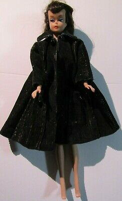 $ CDN59.55 • Buy Barbie 1958 Brunette Ponytail Doll Vintage Mattel Midge 1962 Marked 3Y Body