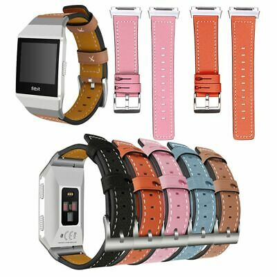 $ CDN14.16 • Buy Replacement Leather Watch Band Wristband Strap For Fitbit Ionic
