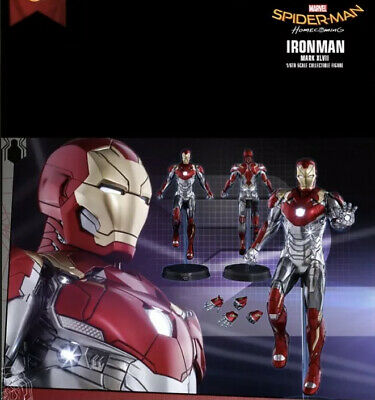 AU297.65 • Buy PPS 004 Iron Man Mark XLVII Hot Toys Exclusive Spider-Man Homecoming !!Rare!!
