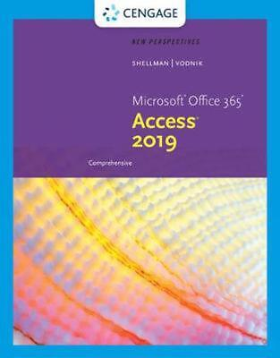 AU131.81 • Buy New Perspectives Microsoft Office 365 & Access 2019 Comprehensive By Mark Shellm