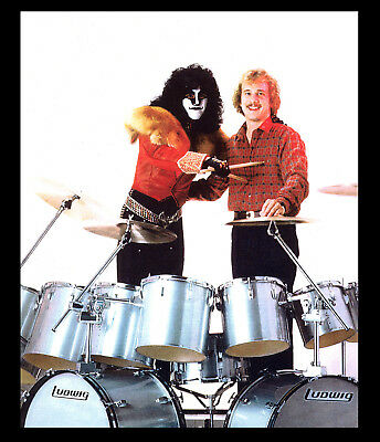 $16.99 • Buy KISS, Never Released Eric Carr, PERSONALLY Owned PHOTO, LUDWIG DRUMS, KISS!