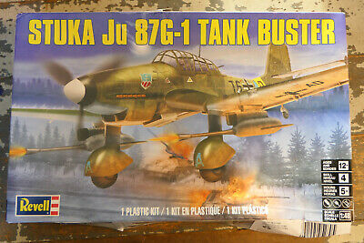 $7 • Buy Revell 1:48 Stuka Ju87G-1 Tank Buster Model Kit
