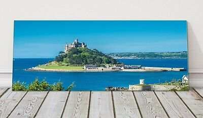 £24.95 • Buy St Michaels Mount Panoramic Canvas Print Cornwall Framed Picture