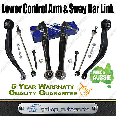 AU260 • Buy For Ford Territory SX SY 04-09 Front Lower Control Radius Arm Sway Bar Link Set