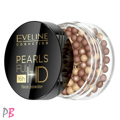 Eveline Pearl Full HD Bronzing Powder Bronzer 15g Contouring Contour Face • 8.99£