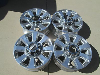 $833 • Buy 20  Ford F250 F350  Factory Oem Wheels Rims Polished Platinum