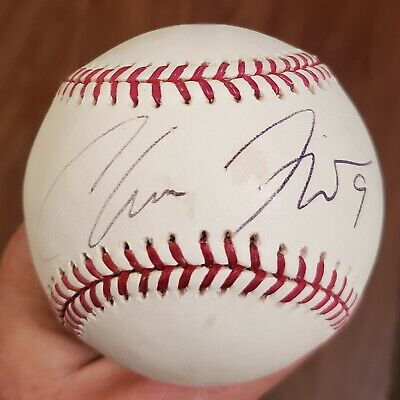 $ CDN13.22 • Buy Angels Chone Figgins Signed Official Major League Baseball W/COA
