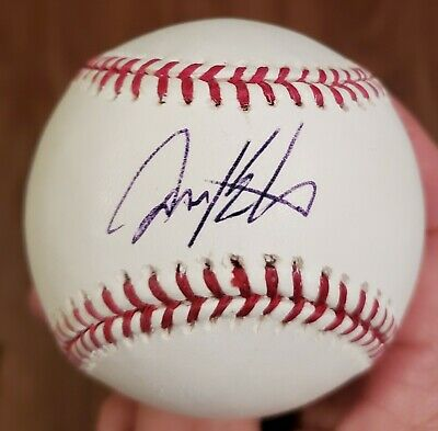 $ CDN13.22 • Buy DAVID ECKSTEIN Signed Official Major League Baseball W/COA