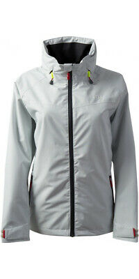 Gill Women's Pilot Waterproof Breathable Jacket Silver UK 12 IN81JW RRP £130 • 59£