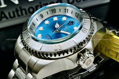 $ CDN152.24 • Buy NEW Invicta Hydromax OCEAN VOYAGE LIMITED EDITION Wavy Blue Dial Stainless Watch