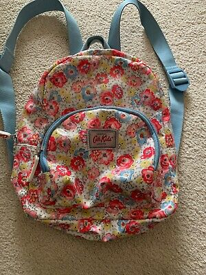 Cath Kidson Floral Oil Cloth Backpack Mini • 5£