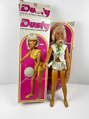 $54.49 • Buy Vintage Kenner Dusty The Volleyball Champion Doll In Box 1974