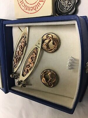 Clogau Gold And Silver  Earrings X2 • 75£