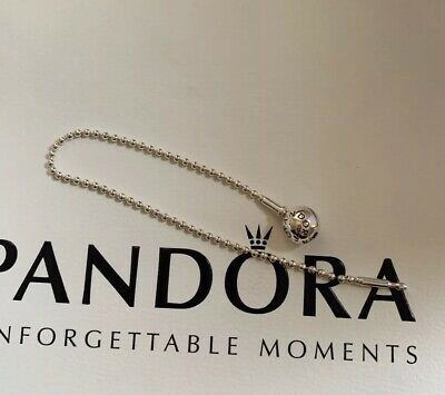 Genuine Pandora Silver Essence Beaded Bracelet 18cms -Retired • 9.99£
