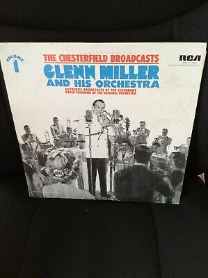 $4 • Buy GLENN MILLER & His Orchestra: The Chesterfield Broadcasts Vol. 1 (LP)  Vinyl