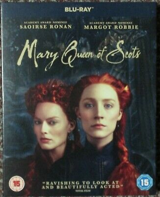 Mary Queen Of Scots - Blue-ray With Saoise Ronan And Margot Robbie • 2£
