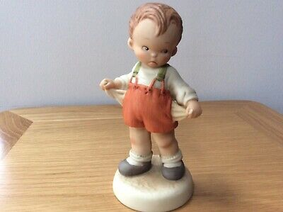 Lucie Attwell - Its The Thought That Counts Figurine - Enesco 115029 • 6.99£