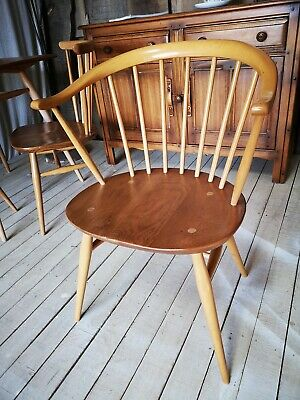 Simply Ercol Guild Of Master Craftsmen Ercol Windsor Cowhorn Armchair Model 449a • 275£