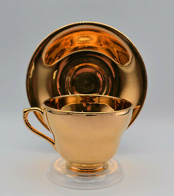 $ CDN11.42 • Buy Royal Winton Grimwades English Bone China Tea Cup & Sauser Gold