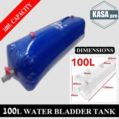 AU104.96 • Buy NEW SERIES IV WATER BLADDER 100L TANK 4x4 4WD UTE CAMPING FISHING ACCESSORIES!