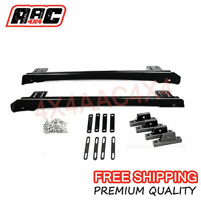 AU149.99 • Buy Roof Rack Brackets For Roof Channel, Suits: Hilux, Triton, D-Max, Ranger, Navara