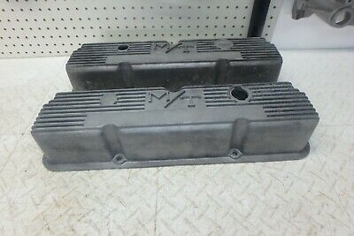 $149.95 • Buy 390 428 427 406 Ford Fe M/t 103r-56 Tall Aluminum Valve Covers Mickey Thompson