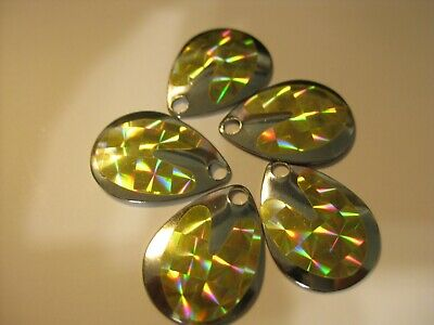 $2.25 • Buy #3 Colorado Spinner Blades Holographic $2.25 For 5 Of Same Color (Gold)