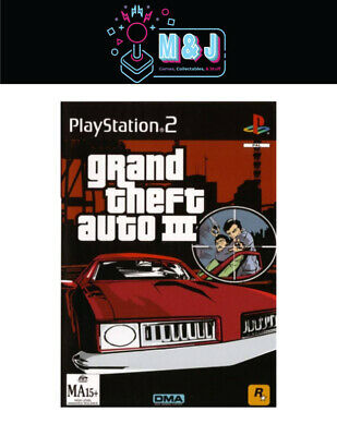 AU12.99 • Buy PS2 Game-Grand Theft Auto III -Complete (Aussie Seller)